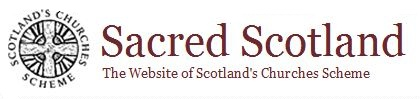 Logo and banner of Sacred Scotland. Click to visit